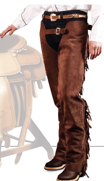 Western Chaps Mocka Lakota  Mocka XX Small = Jeansstorlek 28
