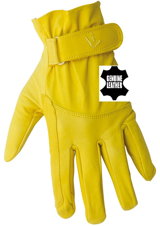 Leathter Gloves Pull Up