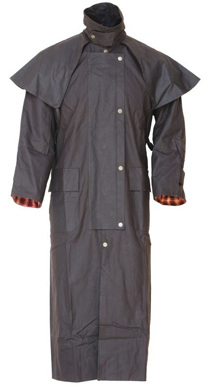 Waterproof Australian Raincoat  Mörkbrun XX Small