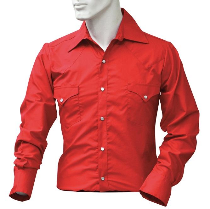 Cotton Shirt Classic T.U. Röd XS
