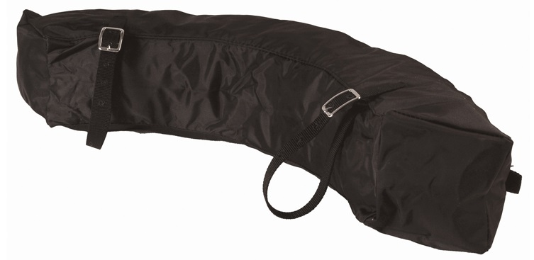 Saddle Bag Big Banana Nylon Svart