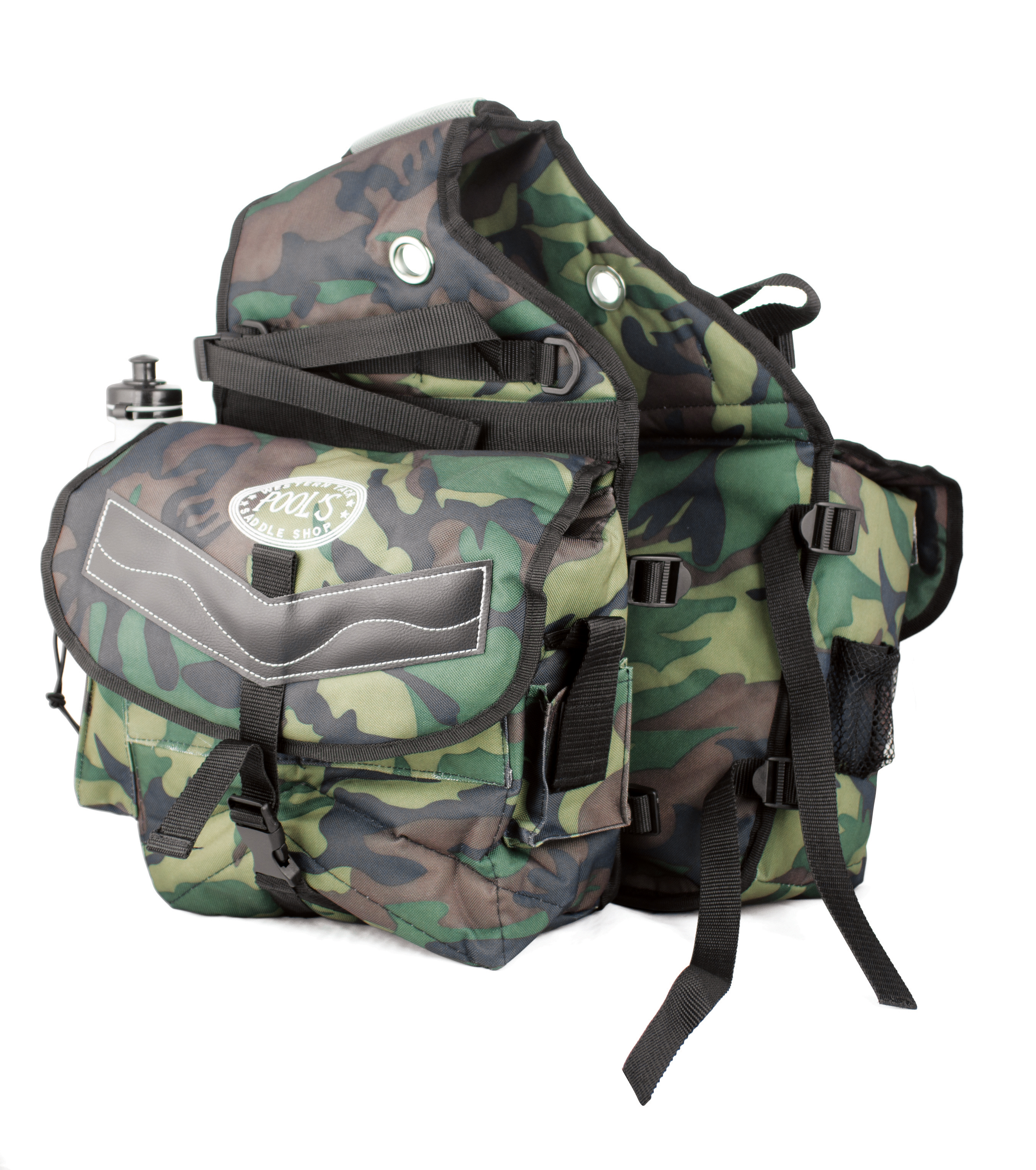 Saddlebag Camouflage Rear Pools Camouflage/Green