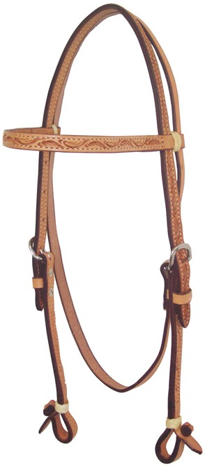 Western Headstall Billy Cook Flowers