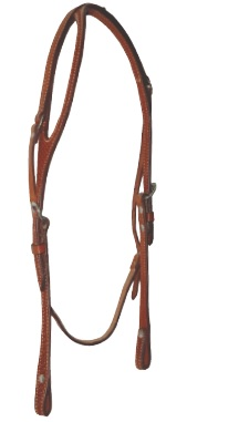 Western Headstall Billy Cook Naturfärgad