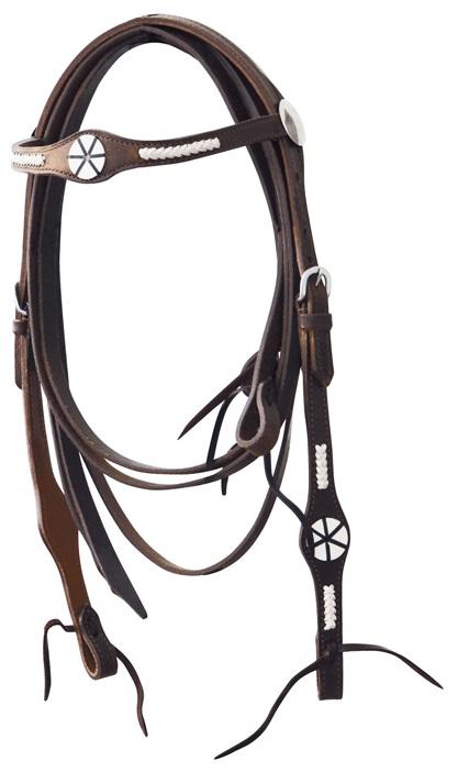Western Headstall incl. Reins Lakota