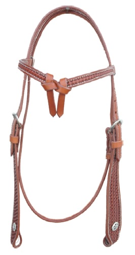 Western Headstall Border Stamp Pools