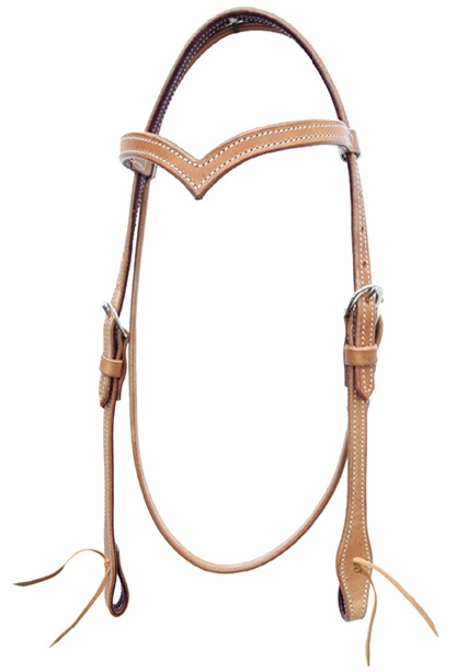 Western Headstall Elite Pools  Natur Liten Cob