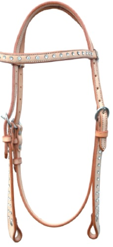 Western Headstal Strass incl Reins Pools