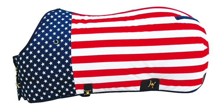 Quarter Horse Stable Rug US Stars