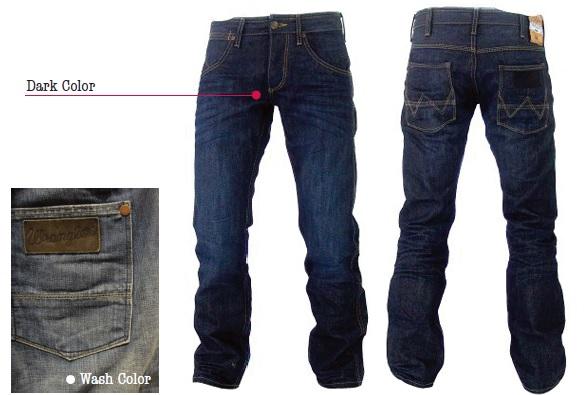Jeans Crank for men Wrangler