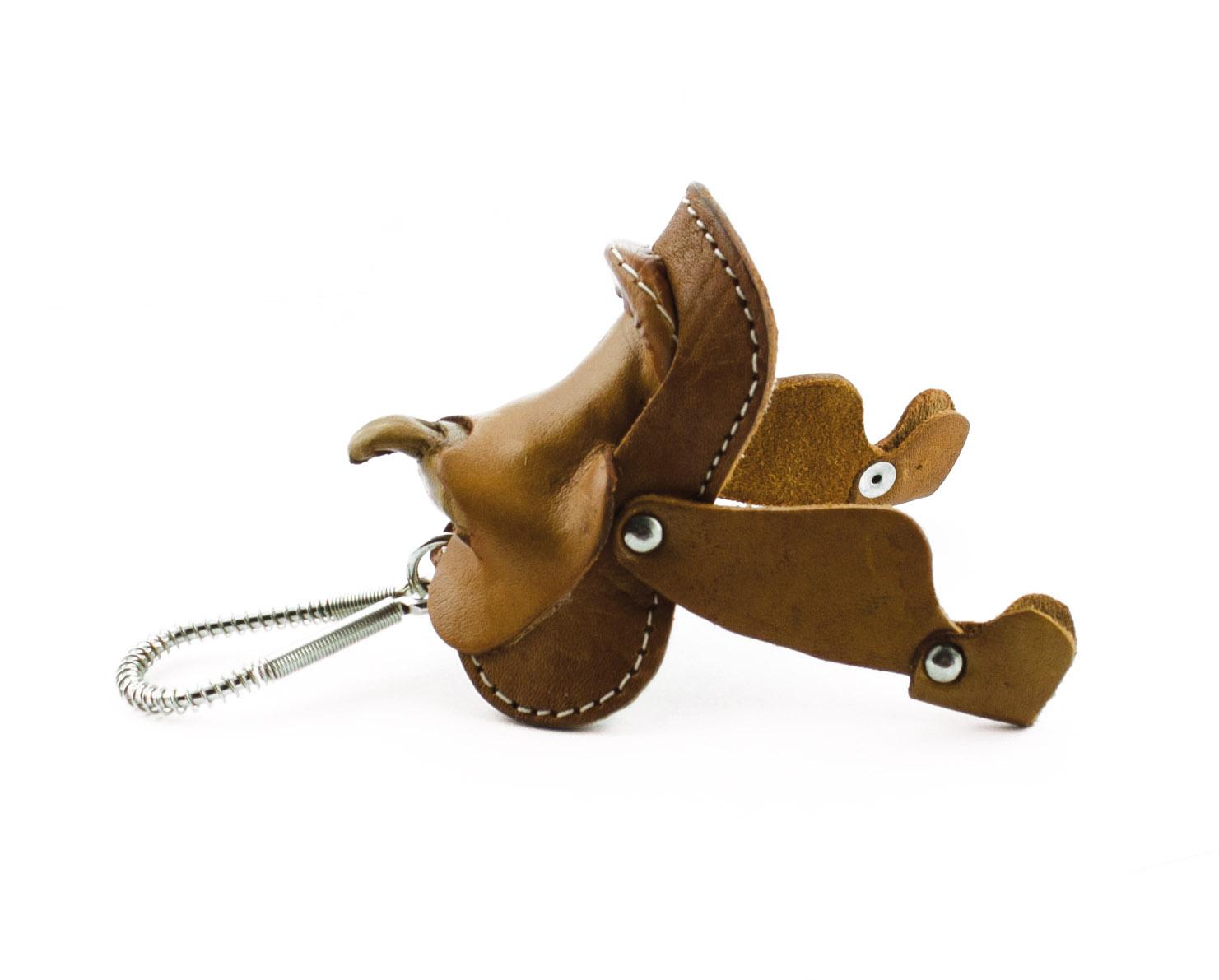 Nyckelring Westernsadel
