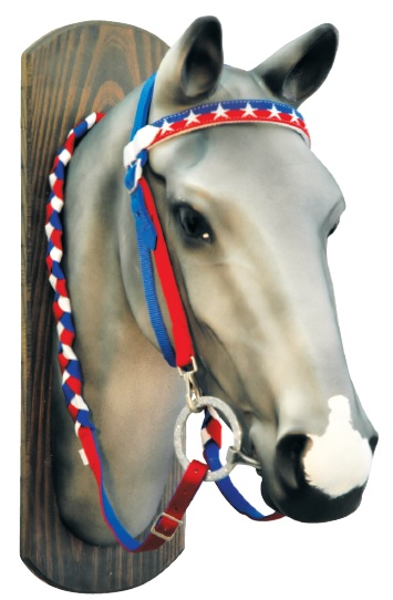 Western Headstall Stars and Stripes Lakota
