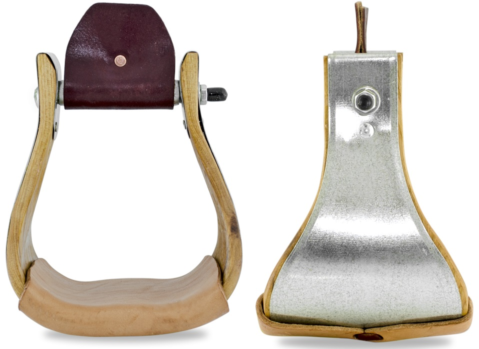 Western Custom Made Stirrups X Large  12,5 cm
