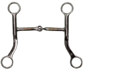 Snaffle Bit With Shanks Pools