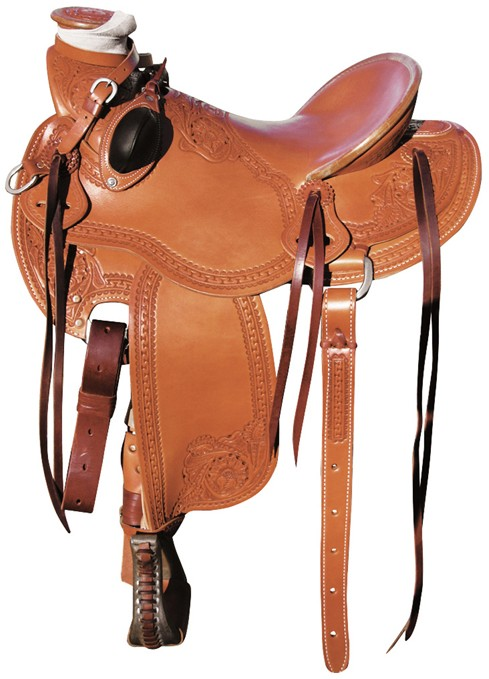 Mike Branch Natural Wade Saddle RWB 16