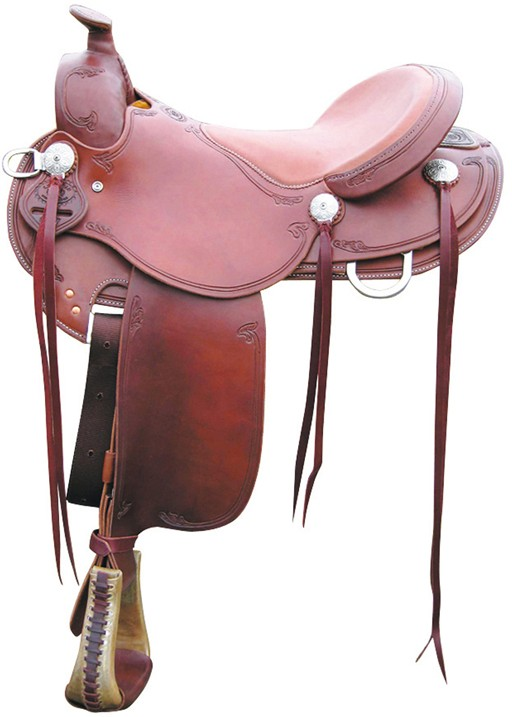 Trail saddle RWB