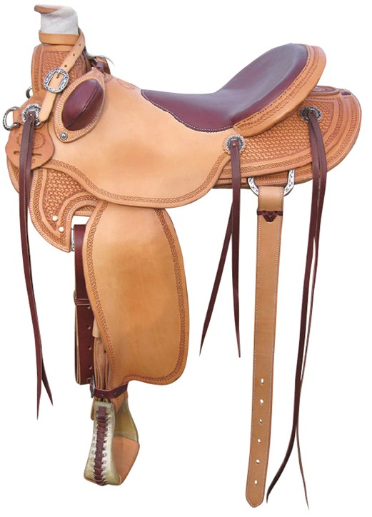 Ranch & Trail Saddle RWB