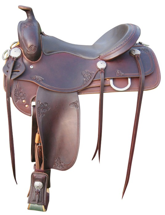 Pleasure Trail Saddle RWB