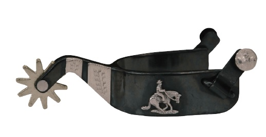 Reining Sporrar Black Iron