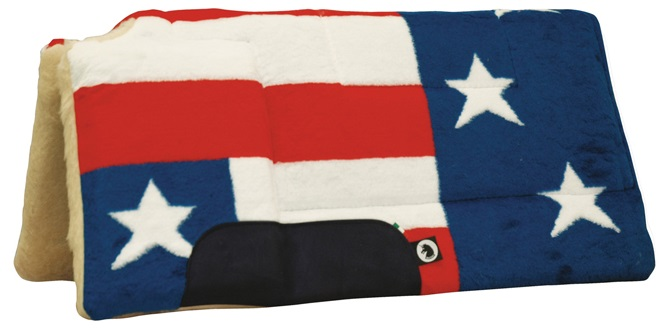 Builtup Pad USA Flag Color