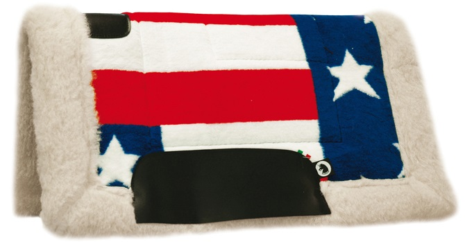 Western Pad USA Flag Color
