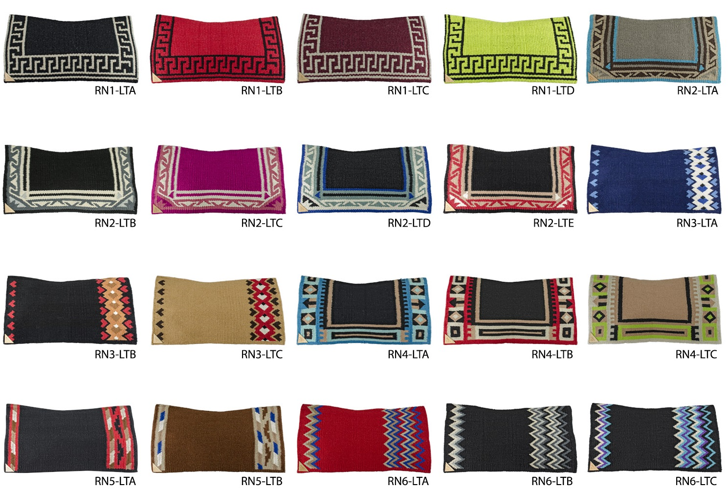 Saddle Blanket Star Pro Pool´s RN1-LTA