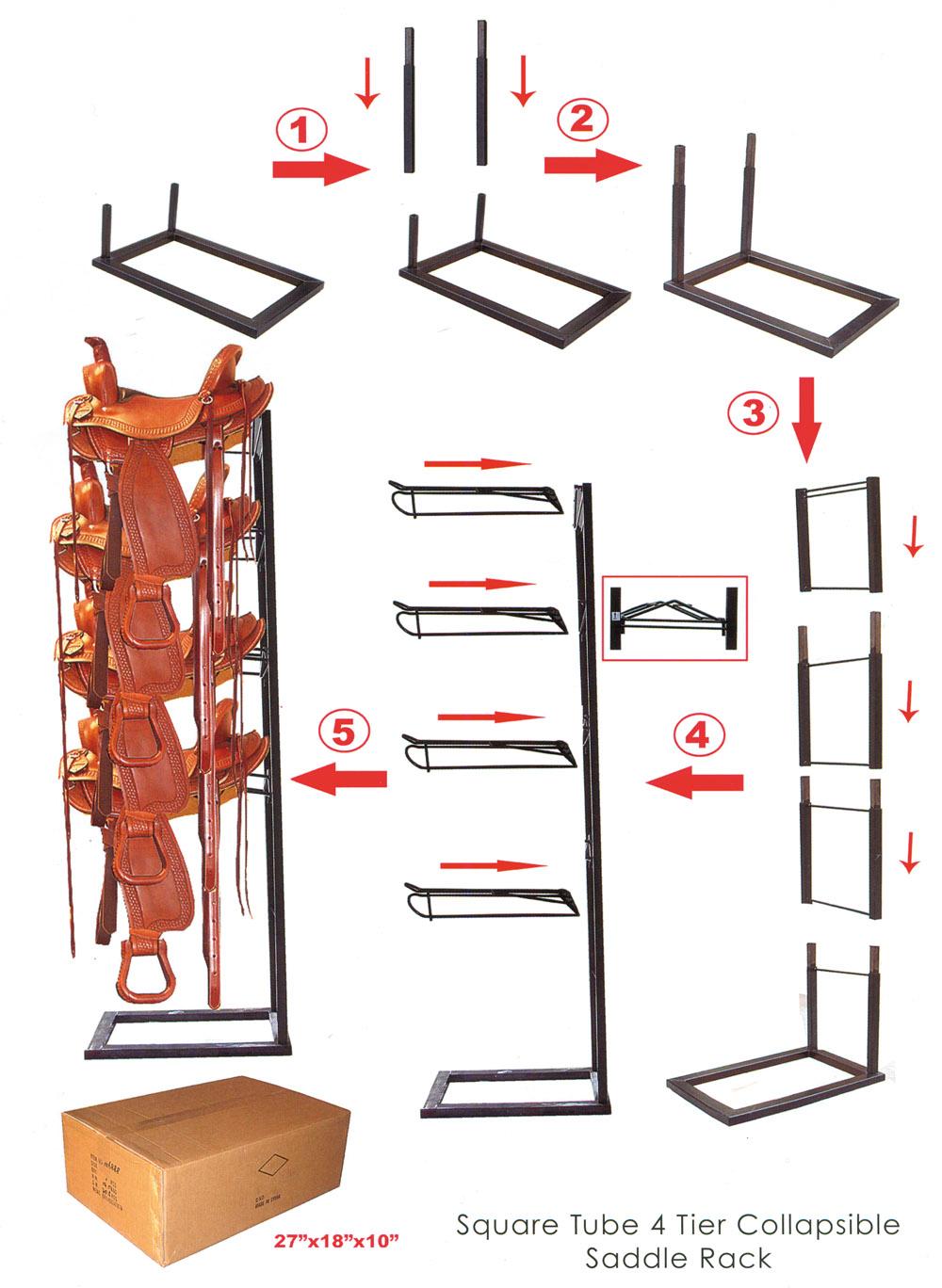 Demonterbar Sadelhållare